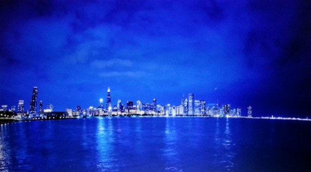 A still from a six-minute time lapse of Chicago at night from Wheaton photographer Max Wilson. © Max Wilson